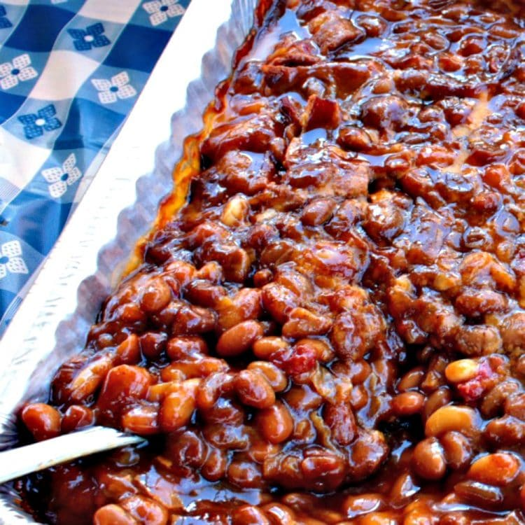 Grandma's Real Southern Baked Beans • Must Love Home