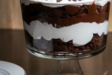 Chocolate Brownie Trifle Dessert