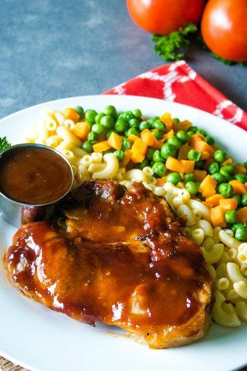 Oven BBQ Pork Chops
