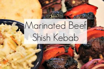 Get your meat and your vegetables fix by throwing on the BBQ a few of the BEST tasting Shish Kebab EVER!! 20 minutes you are done!