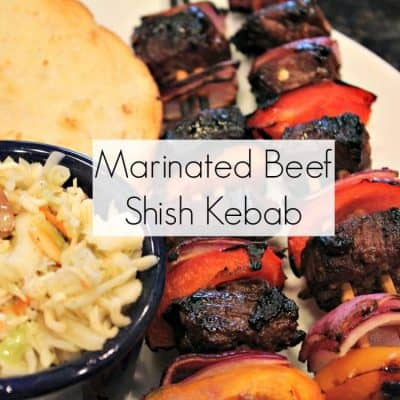 Marinated Beef Shish Kebab Recipe