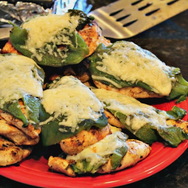 Poblano Peppers have never tasted so good! Chicken, Poblano Peppers and Cheese combine for a mild yet very flavorful recipe. Impress your family with this unique yet easy to make Tex Mex dish!
