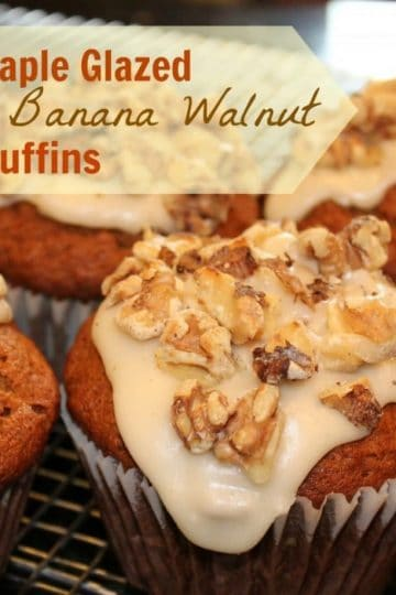 Maple-Glazed-Banana-Muffins