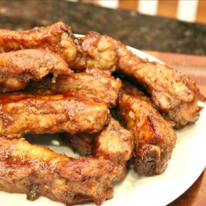 Spicy St Louis Style Ribs