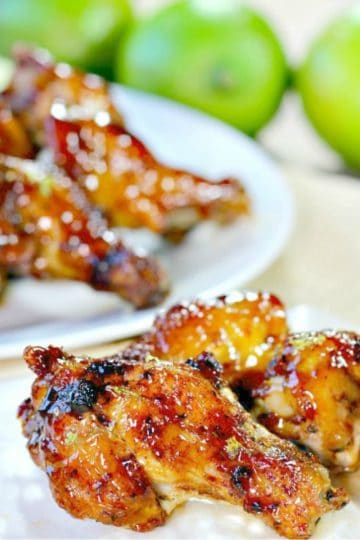Cajun Honey Lime Chicken Wings - Citrus and spicy, with a hint of honey sweetness, they'll change the way you flavor your wings forever.