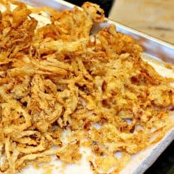 Spicy Onion Straws