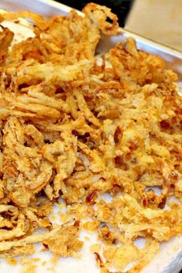 Spicy Onion Straws