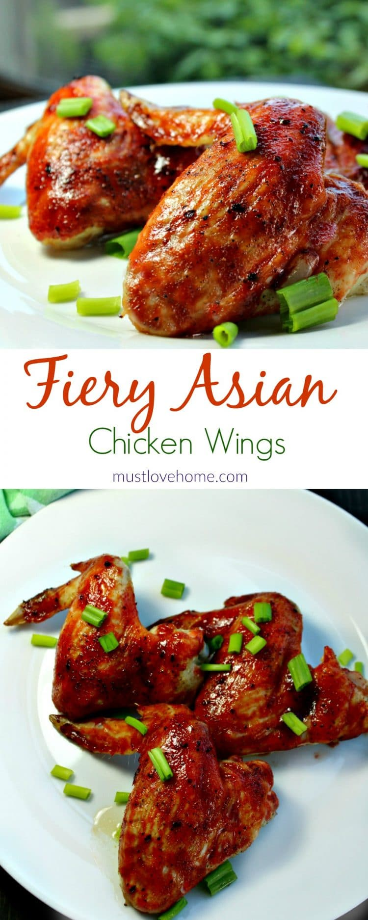 Make these AMAZING crispy Fiery Asian Wings anytime in your oven! Makes perfect smokin' hot wings every time!
