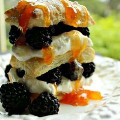 Blackberry Napoleon Recipe