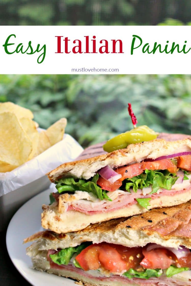A classic Italian Panini is a perfect combination of meat, cheese, and spices, served on a crispy hot roll - perfect for lunch or dinner!