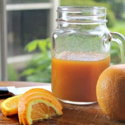 How to Make Orange Simple Syrup