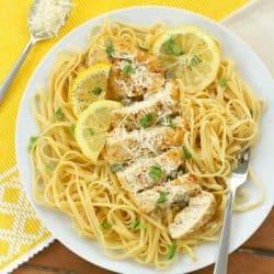Lemon Garlic Chicken Piccata