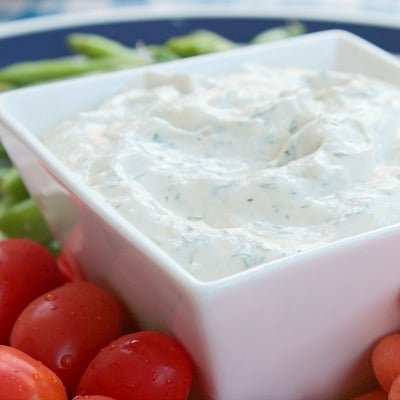 easy herb dill dip