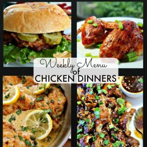 We are cooking up a work week of favorite Chicken Dinner recipes. From skillet, to slow-cooker to oven, we have you covered for the work week! No guesswork involved, just bring your own side dish or favorite salad to make a complete meal.