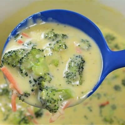 Old Fashioned Broccoli Cheese Soup