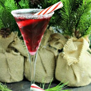 Pretty In Peppermint Martini