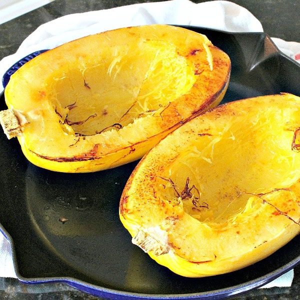 How to Cook Spaghetti Squash! It is a delicious, healthy alternative to pasta and low calorie too!