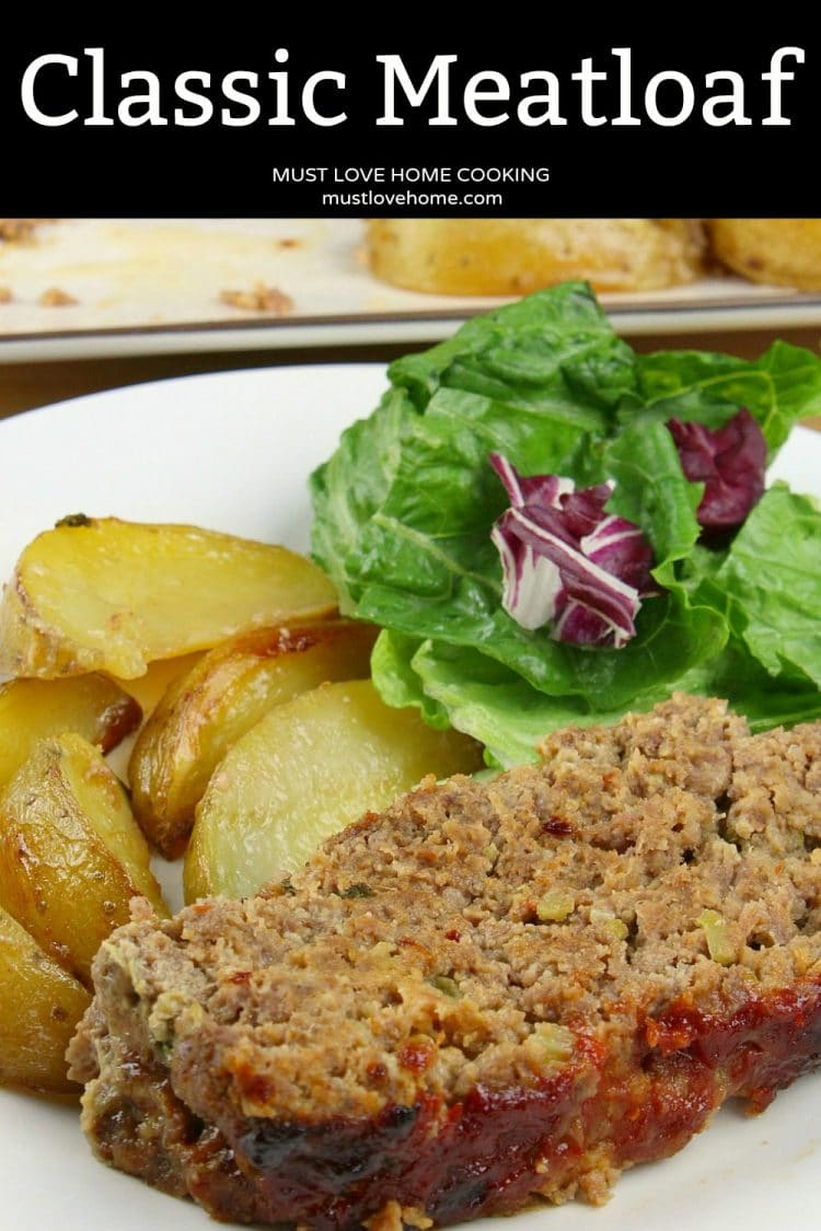Classic Meatloaf - All seasoned and sauced up, this Southern meatloaf recipe uses celery, green onions, a bit of garlic and chili sauce for incredible flavor. This no-fail, kid approved recipe is sure to become a family favorite.