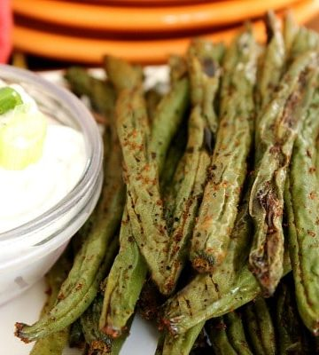 Fiesta Green Beans - Crispy and spicy