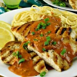 smokey lemon chicken piccata