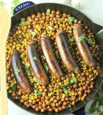 Chipotle Sausage Bean Bake