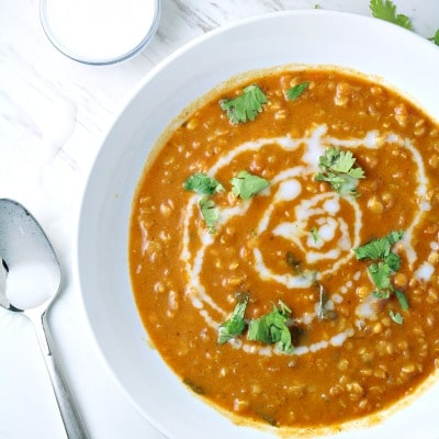 CURRY LENTIL AND COCONUT SOUP