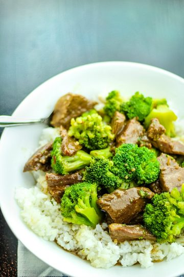Tender beef, broccoli and a succulent sauce make this Slow Cooker Mongolian Beef with Broccoli a family favorite. Serve over rice and you have a complete meal that tastes even better than take-out!