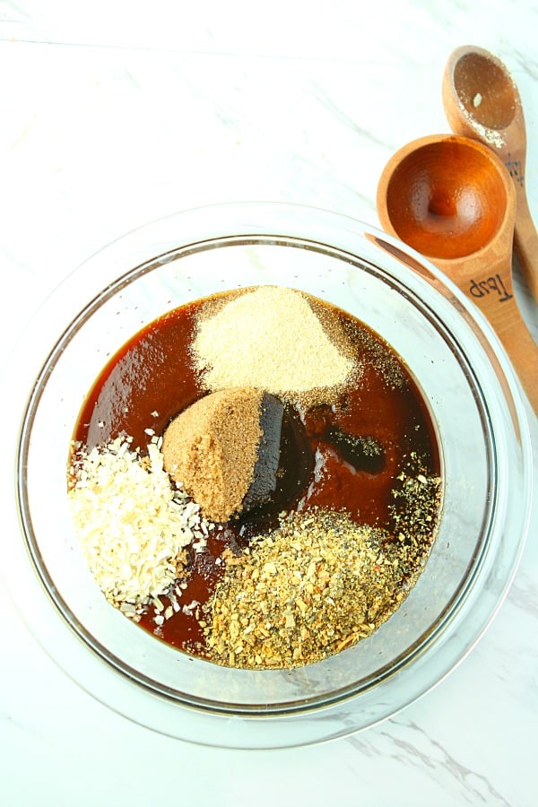 spices added to barbecue sauce for bold flavor
