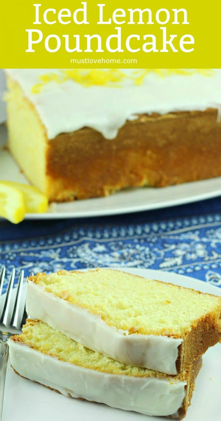 Bake this Glazed Lemon Pound Cake when you need a real crowd-pleaser. Buttery firm cake with a tangy lemon glaze will be the hit of any potluck or dessert table. Great for make ahead too!