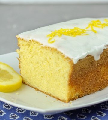 Lemon Glaze Icing