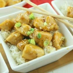 Easy Sesame Honey Chicken
