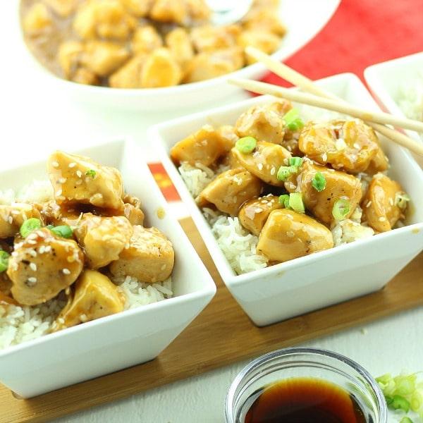 Easy Sesame Honey Chicken