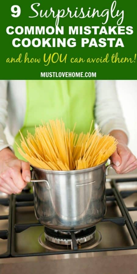 Cooking perfect pasta is easy - let me tell ya the pitfalls to avoid to get you there!