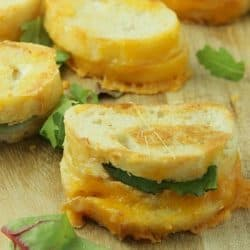 Dripping with gooey cheese 20 Minute Mini Grilled Cheese Appetizers are a twist on the classic that everyone will love.