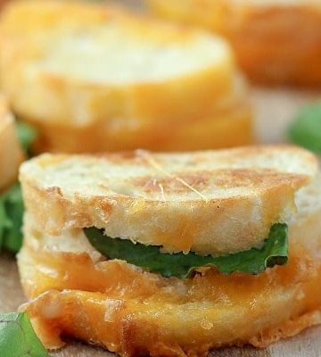 Grilled Cheese Appetizer
