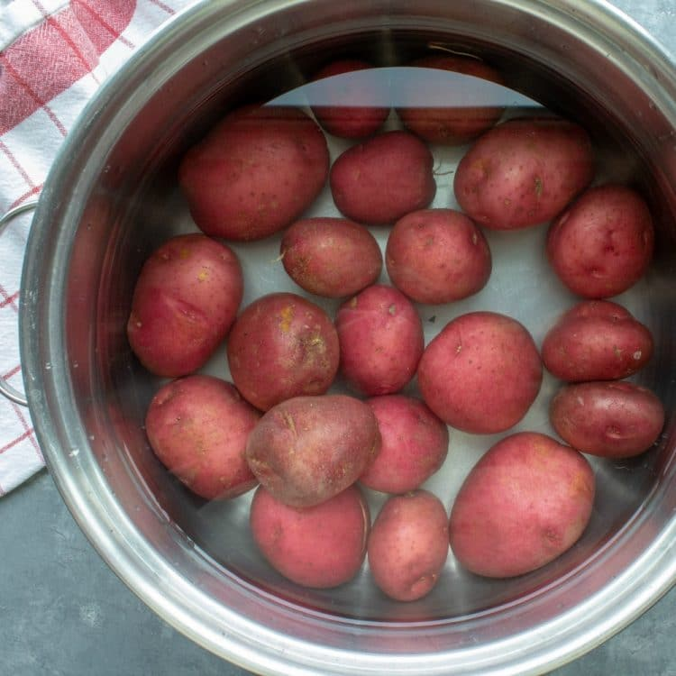 New Red Potatoes for Classic No-Peel Potato Salad