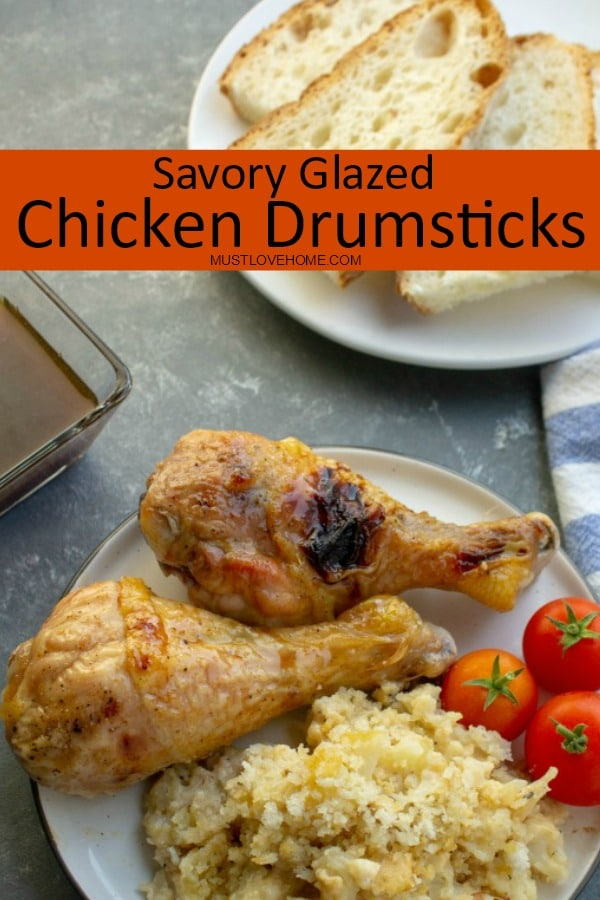 Tender Chicken Drumsticks with Savory Glaze is perfect for the oven or the grill. Lemon, vinegar, cumin and oyster sauce make a mouthwatering sauce that you will want to make again and again. Try the glaze on fish and beef too!