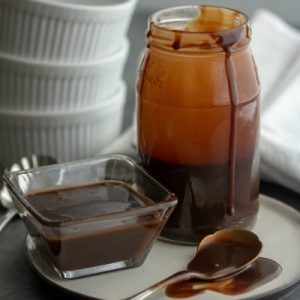 Creamy rich and velvety smooth, this cocoa powder based chocolate sauce adds the right finishing touch to any ice cream sundae. Served hot or cold, this old family recipe chocolate sauce will have your dessert lovers begging for more!
