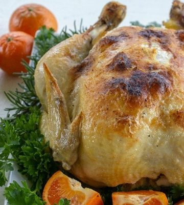 This slow cooker whole chicken is a deliciously seasoned Sunday dinner style chicken made with the help of a crock pot.