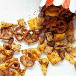 smoky snack mix