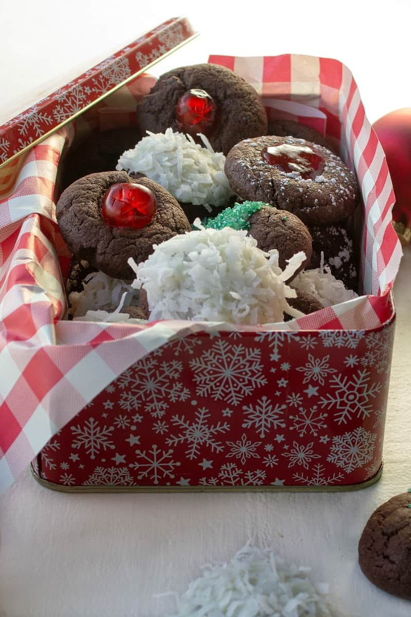 Holiday baking is simple and quick with Easy Cake Mix Christmas Cookies! Try these at your next party. Great for gift-giving and bake sales too!