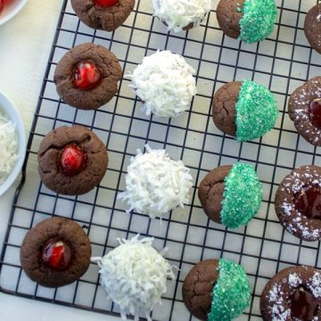 Easy Cake Mix Christmas Cookies