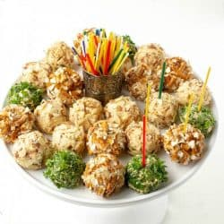 Savory Cheese Ball Bites