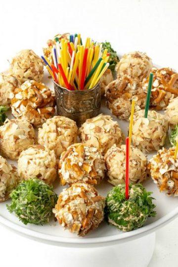 Savory Cheese Ball Bites
