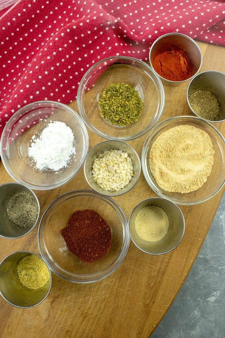 Spices for Homemade Sloppy Joe Seasoning Mix