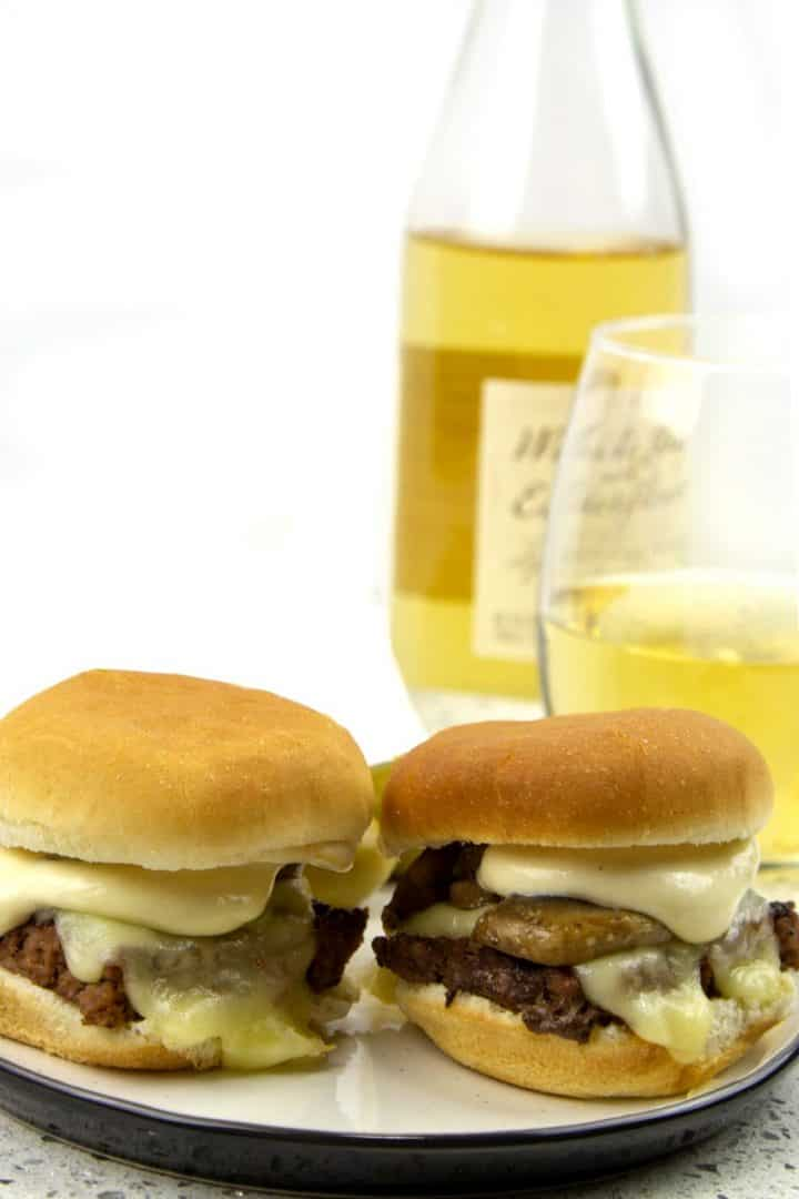 Easy and elegant, simple Swiss Mushroom Burger Sliders with a tasty Dijon Sauce are great for the big game or any event. The burgers are oven-baked and ready in about 30 minutes!