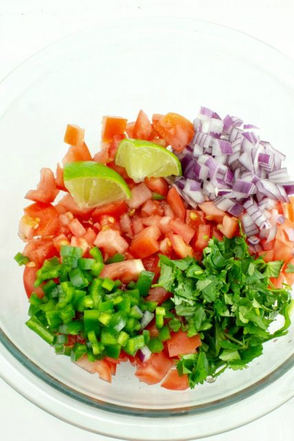 Perfect Pico De Gallo recipe ingredients