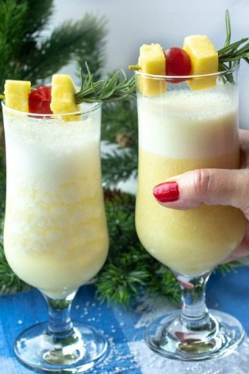 Snow Day Pina Colada