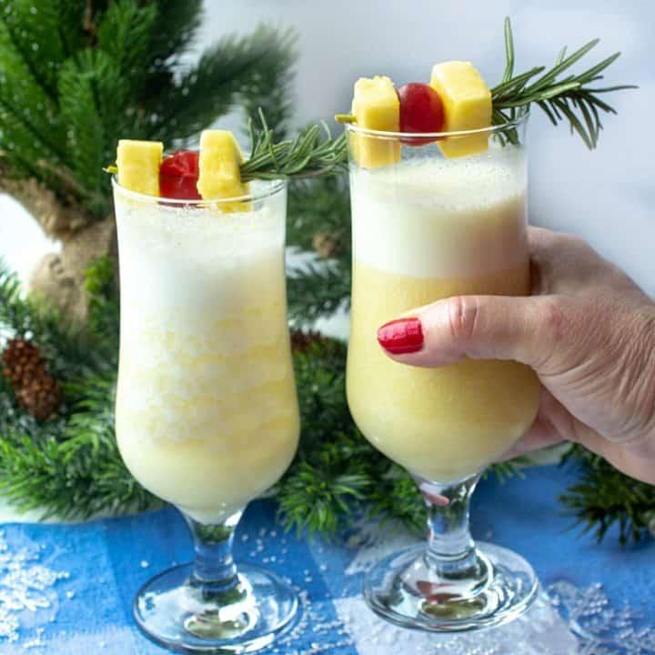 Snow Day Pina Colada Recipe