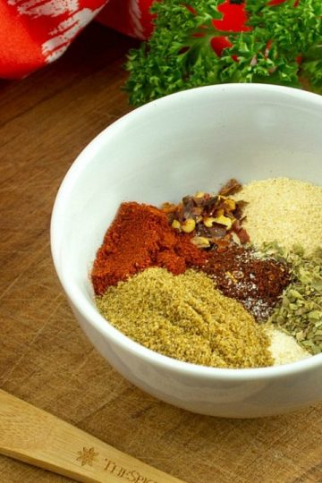 Spices for Homemade Taco Seasoning Mix